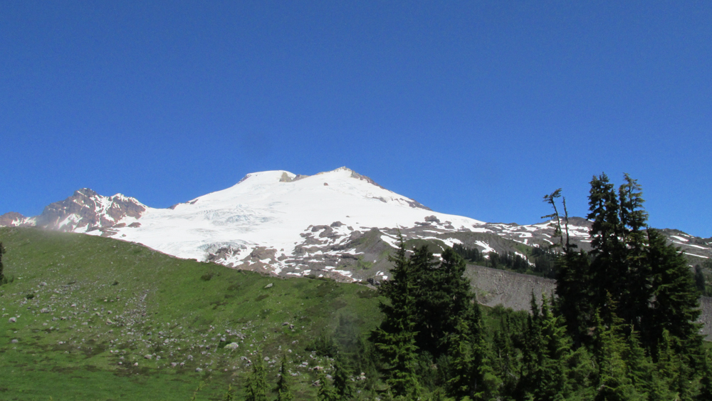Mount Baker's southern aspect
